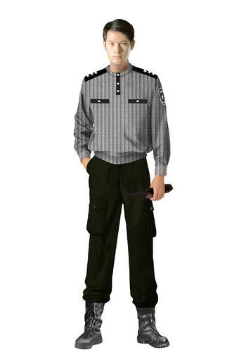 定制保安服灰色