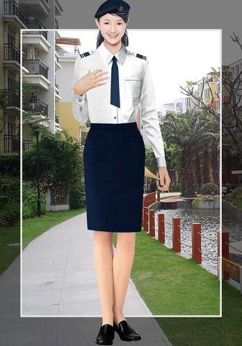 保安女衬衣