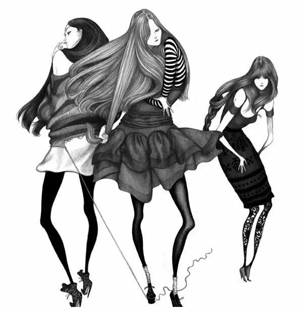 大师之作-LauraLaine插画赏析